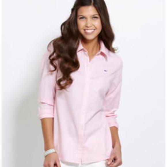 d0556f8ad Vineyard Vines Tops   Womens Classic Solid Oxford Shirt   Poshmark